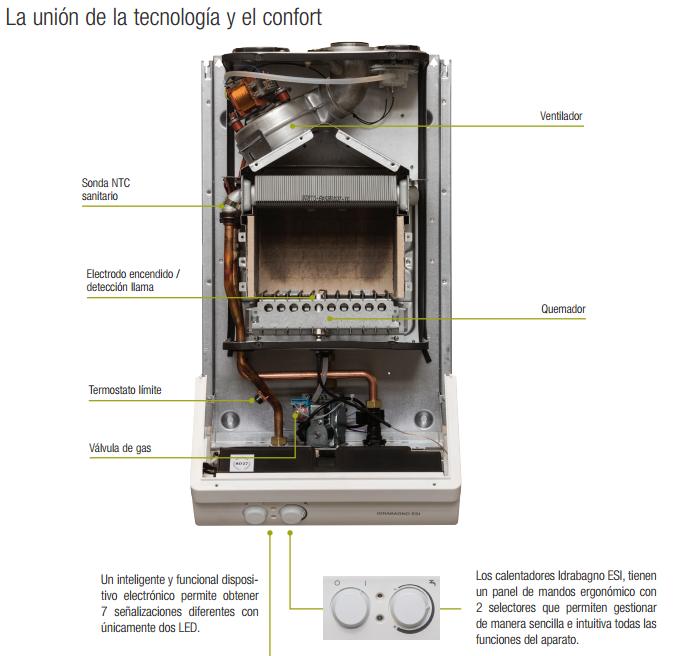 Calentador a gas estanco beretta idraba o 11 esi - Calentadores de gas baratos ...