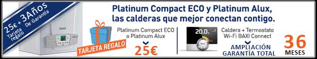 promocion en caldera baxi platinum