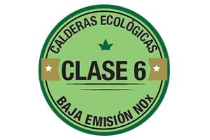 Calderas gas natural clase 6 condensacion