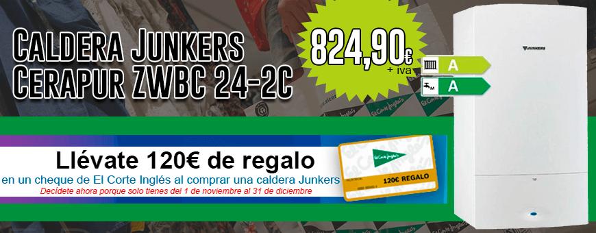 promocion 2018 calderas junkers cerapur