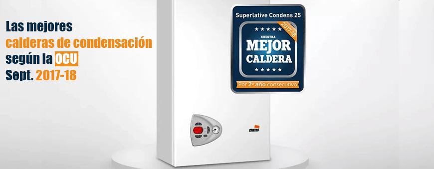 mejor oferta y precio de caldera de condensacion ocu 2017-2018
