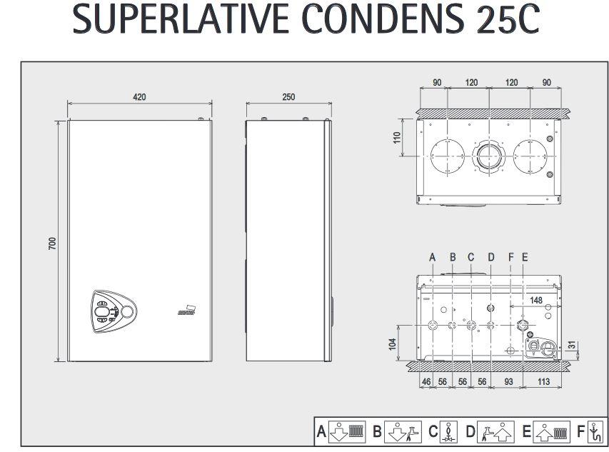 Precio Caldera Cointra Superlative Condens 25 C