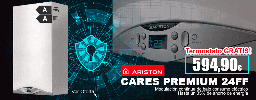 Oferta Precio Caldera Ariston Cares Premium 24 FF