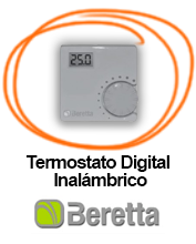 Termostato Inálambrico Digital