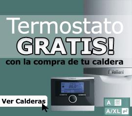 Consigue termostato gratis con la compra de tu caldera.