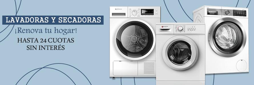 Comprar lavadoreas y secadoras al mejor precio online
