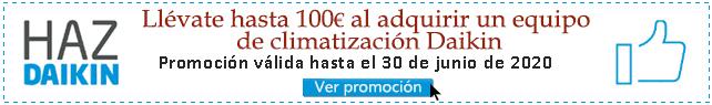Promocion de aire acondicionado daikin 2020