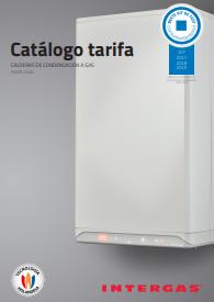 Tarifa Intergas 2020