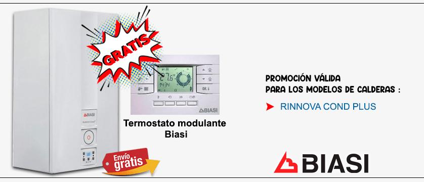 Promocion 2021 caldera biasi con termostato modulante gratis