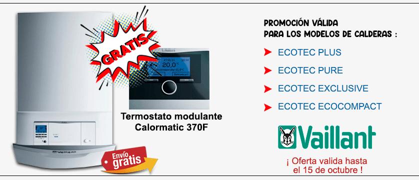 Caldera Vaillant Ecotec promocion 2021