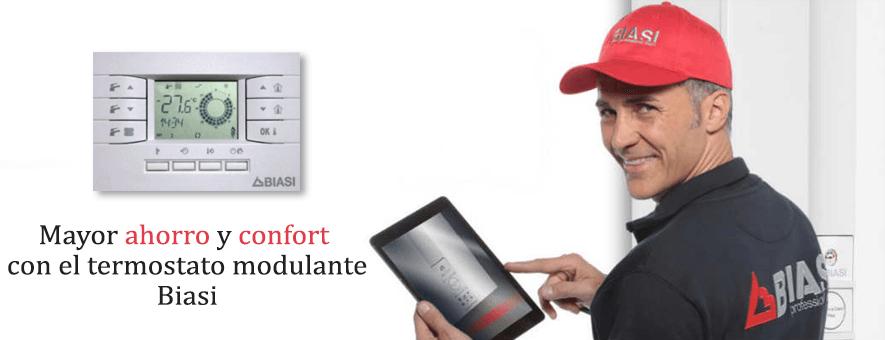 Termostato modulante Biasi Gratis oferta 2020