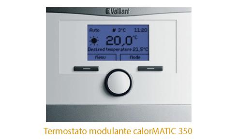 Caldera Vaillant Ecotec Plus con termostato calormatic 350