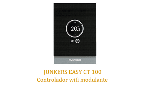 Caldera Junkers Cerapur Excellence ZWSB 30-4 E con junkers easy ct 100