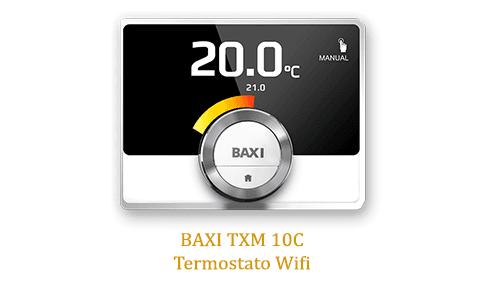 Caldera baxi Platinum Compact 26/26 F ECO con termostato wifi txm 10c