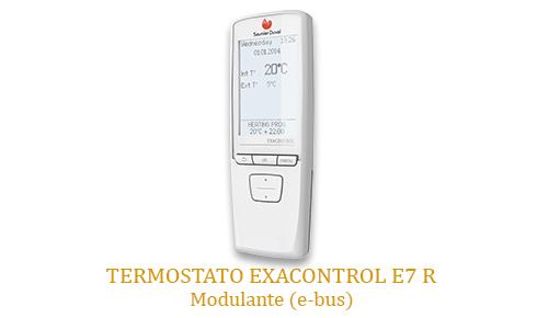 Caldera Saunier Duval con termostato exacontrol e7 r