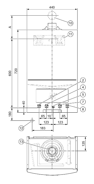 Precio Caldera Vaillant ecoTEC pure VMW 236-7-2
