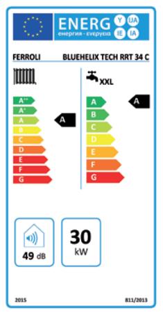 Precio Caldera Ferroli Bluehelix Tech RRT 24 C