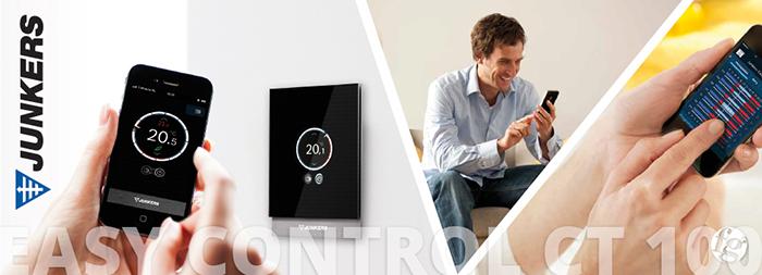termostatos con calderas junkers