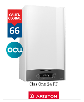 Caldera Ariston Clas One 24 permiado OCU 2019 -2020