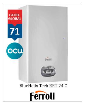 Caldera Ferroli Bluehelix tech RRT 24 premiado OCU 2019 2020