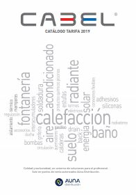 Catalogo cabel 2019