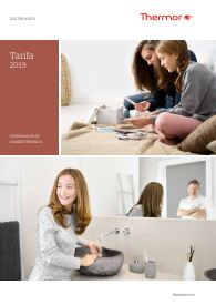 Tarifa catalogo thermor 2019