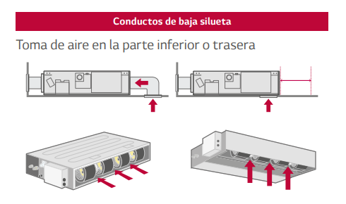LG Conductos Baja silueta