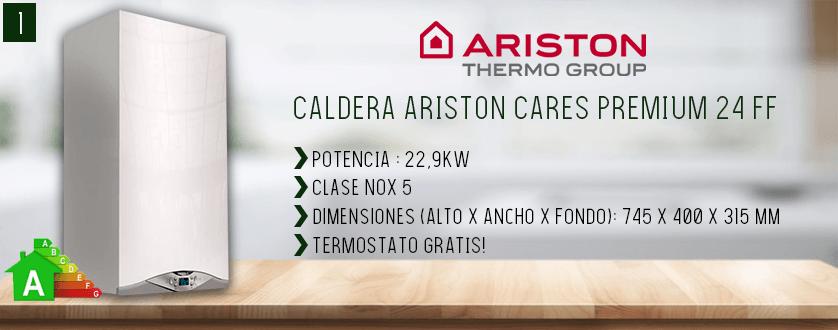 Mejor caldera de gas Ariston