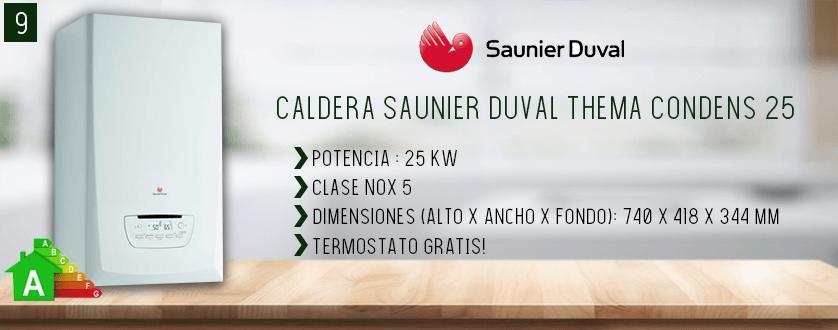 Mejor caldera de gas Saunier Duval
