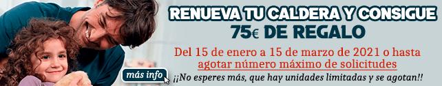 Plan Renove Saunier Duval 2021 hasta 150€ de regalo
