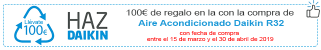 promocion aire acondicionado daikin 2019