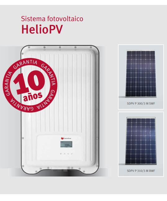 Saunier Duval Sistema fotovoltaico